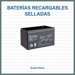 Baterías selladas