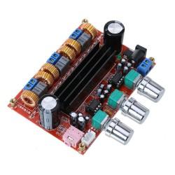 Módulo amplificador estéreo TPA3116 clase D 100W + 2x50W