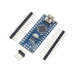 Arduino Nano V3.0 CH340 sin cable - Sin soldar