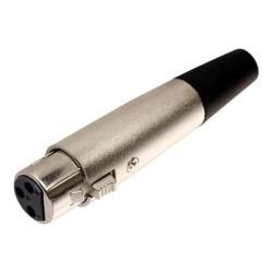 Conector N.A. XLR hembra