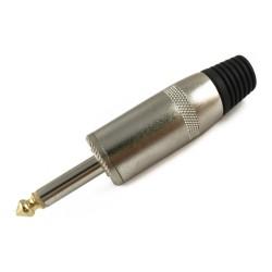 Conector de audio TMC de 6.3 mm mono, jumbo con baquelita