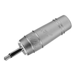 Conector de audio Zebra de 3.5 mm mono, metálico