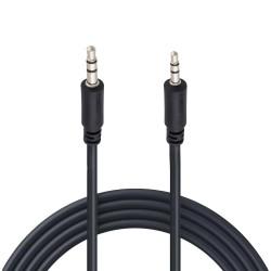 Cable de audio N.A. de 2.5 mm a 3.5 mm estéreo de 1.8 m