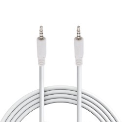 Cable de audio N.A. de 3.5 mm a 3.5 mm TRRS de 1.8 m