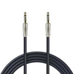 Cable para instrumentos Zebra de 6.3 mm a 6.3 mm mono calibre 24 de 6.1 m