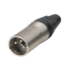Conector Neutrik XLR macho, de presión