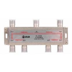 Splitter N.A. de 6 vías 5-2400 MHz
