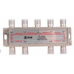 Splitter N.A. de 8 vías 5-2400 MHz