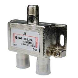 Splitter N.A. de 2 vías 5-2400 MHz