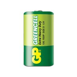 Batería GP de carbón D 1.5V - par