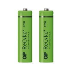 Batería GP Recargable NiMH AA 2700 mAh - par