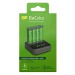 Kit de batería GP recargable NiMH AA 4 piezas de 2100 mAh con indicador de carga