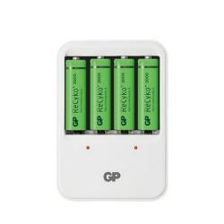 Kit de batería GP recargable NiMH AA con cargador