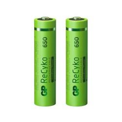 Batería GP Recargable NiMH AAA 650 mAh - par
