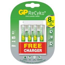 Kit de batería GP recargable NiMH AAA 4 piezas de 850 mAh con cargador