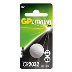 Batería GP de Litio CR2032 3V