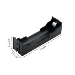 Sujetador de 1 batería 18650 para PCB