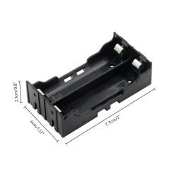 Sujetador de 2 baterías 18650 para PCB