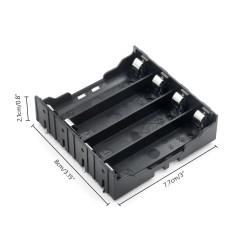 Sujetador de 4 baterías 18650 para PCB