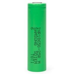 Batería Li-ion 18650 Samsung INR18650-25R