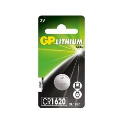 Batería GP de Litio CR1620 3V