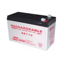 Batería recargable sellada de ácido-plomo 12V 7Ah