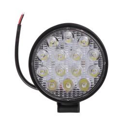 Neblinera LED redonda de 14 leds y 10 a 30 V