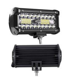 Neblinera LED rectangular de 40 leds y 10 a 30 V