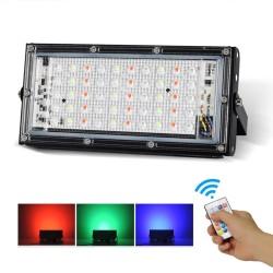 Reflector LED de tres colores y 50W