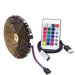 Tira LED USB RGB 5050 de 2m