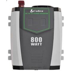 Inversor de corriente Cobra 800W con USB