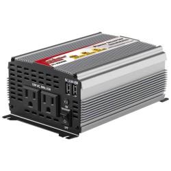 Inversor de corriente N.A. 1000W con 2 USB