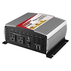 Inversor de corriente N.A. 1500W con 2 USB