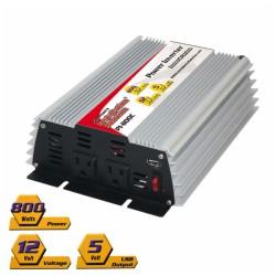 Inversor de corriente N.A. 800W con USB