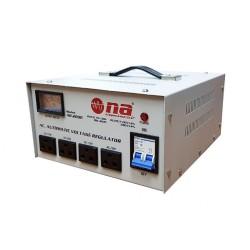 Regulador de voltaje N.A. 2000W con conexiones tipo tomacorriente
