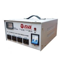 Regulador de voltaje N.A. 3000W con conexiones tipo tomacorriente