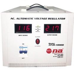Regulador de voltaje N.A. 10,000W con conexiones tipo bornera