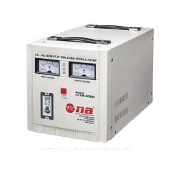 Regulador de voltaje N.A. 5000W con conexiones tipo bornera