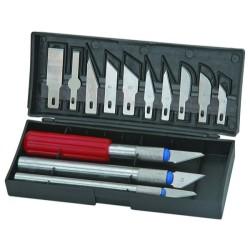 Set de cuchillos de precisión de 13 piezas