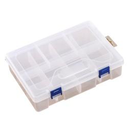 Organizador plástico de 8 compartimientos de doble capa