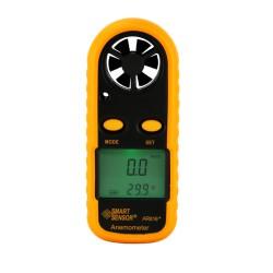 Anemómetro digital AR816+ para flujo, velocidad y temperatura de aire