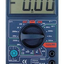 Multímetro digital TMC-60 con medidor de frecuencia