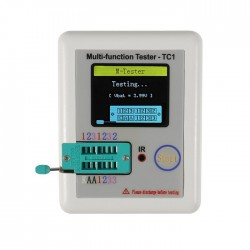Tester de componentes LCR-TC1