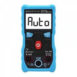 Multímetro ZOYI ZT-S4 automático, true RMS con termómetro