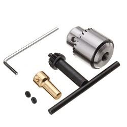 Mandril para eje de 3.175mm y brocas de 0.3 - 4mm