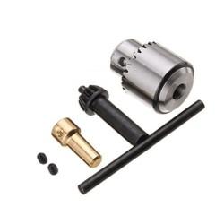 Mandril para eje de 5mm y brocas de 1.5 - 10mm
