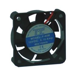 Ventilador TMC a 12V y 100mA, 40mm