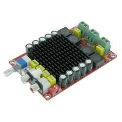 Módulo amplificador de audio estéreo TDA7498 clase D 100W + 100W