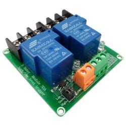 Módulo relé 5V, 2 canales 30A