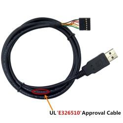 Módulo convertidor tipo cable de USB a TTL de 3.3V y 6 pines